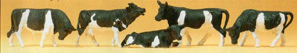 Preiser HO personnages - 14155   Vaches
