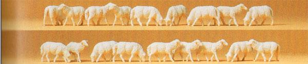 Preiser HO personnages - 14161    Moutons