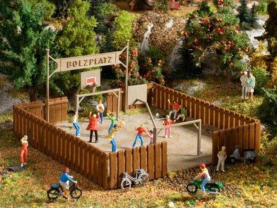 Vollmer HO batiments - 3603  terrain de football