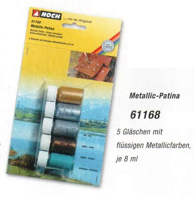 Noch HO - 61118   patine metallique