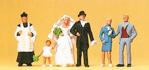 Preiser HO personnages - 10058  personnages (mariage)