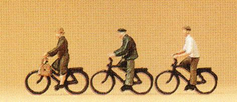 Preiser N personnages - 79087   personnages (cyclistes)