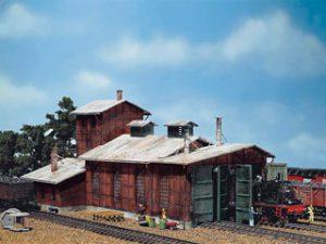 Remise à locomotive 2 emplacements - FALLER 120161