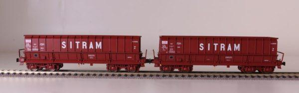 2 tombereaux DMH SITRAM - LS MODELS 30301