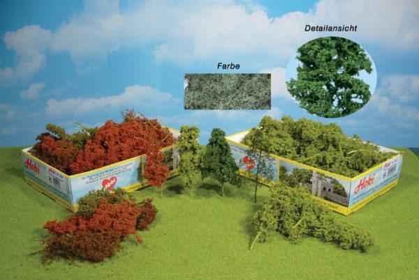 Lot d'arbres et buissons vert moyen- HEKI 1632