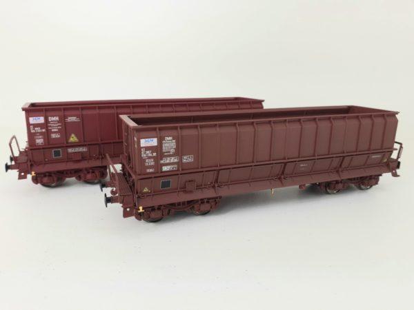 2 wagons tomberaux DMH , VTG ,SOGEWAG SNCF - LS MODELS 30805