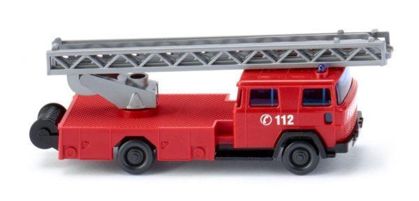 Camion de Pompiers grande échelle - WIKING 096203