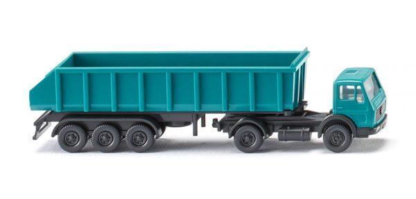 Camion semi-remorque échelle N - WIKING 094806