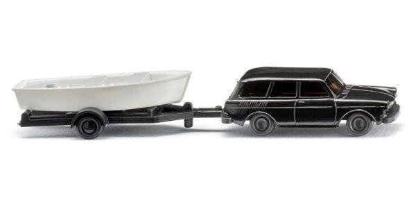 Lot de 2 voitures et bateaux - WIKING 092139
