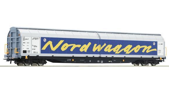 Wagon à parois coulissantes - ROCO 67318