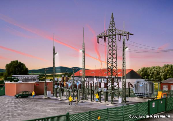 Poste transformation électrique - HO - 39840