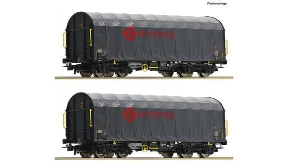 Wagon bâché ERMEWA ( à l'unité) - ROCO 76039