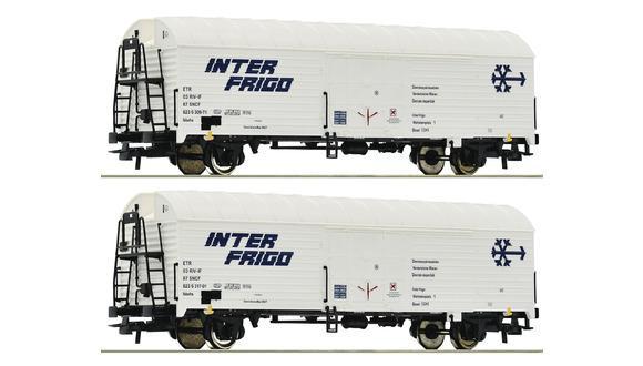 Wagon inter-frigo ( à l'unité) - HO - ROCO 76040