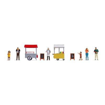 Chariot de glaces et de hot-dog- HO - NOCH 16229