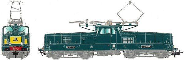 Locomotive électrique BB12079 - Digitale - JOUEF HJ2338S