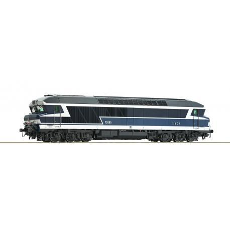 Locomotive diesel CC 72000   - analogique - JOUEF HJ2600