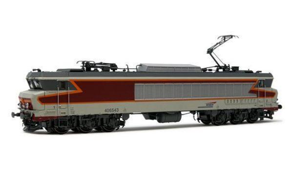 Locomotive électrique CC6543- livrée béton/rouge - Analogique - JOUEF HJ2370