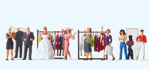 Magasin robe de marié - HO - PREISER 10586